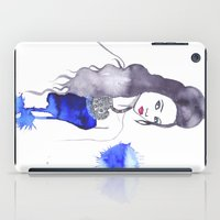 fashion illustration iPad Cases featuring fashion illustration by Rashmi Dagwar