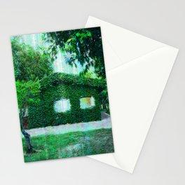 Green Heaven by Lika Ramati Stationery Cards