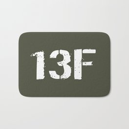 13F Fire Support Specialist Bath Mat