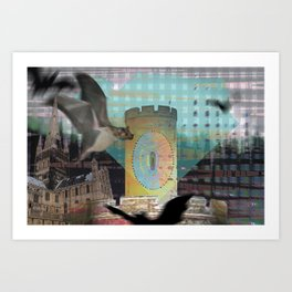 "'Faked Light, Take Flight"" Art Print"