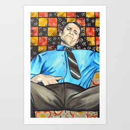 Al Bundy Art Print