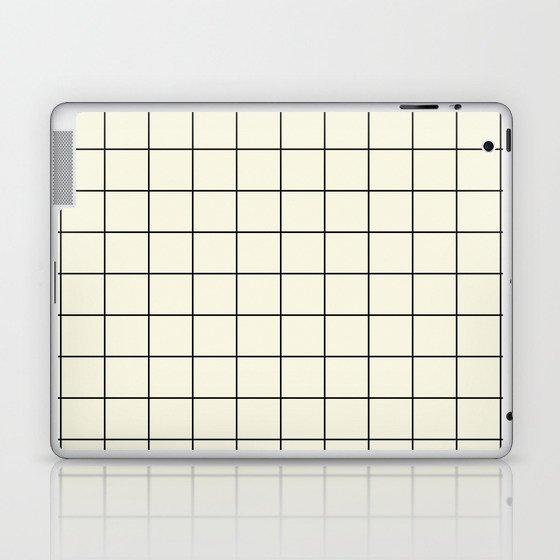 simple grid Laptop & iPad Skin