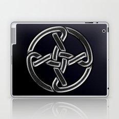 Celtic Knot Black Laptop & iPad Skin