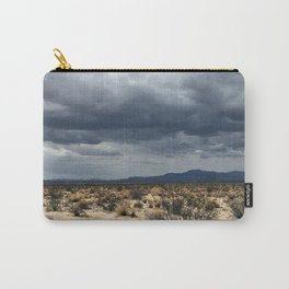 California desert under the clouds Carry-All Pouch