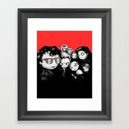 Lost Plushies Framed Art Print