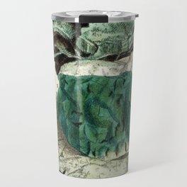 Vintage Mineralogy Illustration Travel Mug