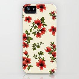 Patter flower fantasy 2 iPhone Case