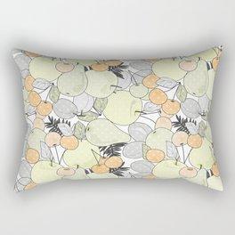 Fruit market . Retro . Rectangular Pillow