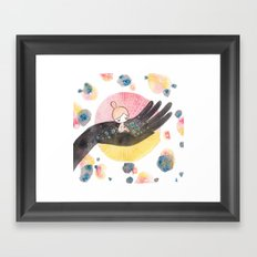 helping hand Framed Art Print