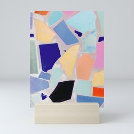 Multicolor Mosaic Shapeshifter Mini Art Print