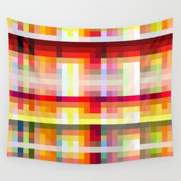classic retro colorful Nime Wall Tapestry