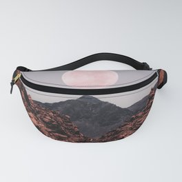 Road Red Moon Fanny Pack