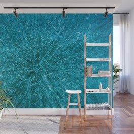 Baikal ice texture Wall Mural