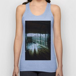 Boarding shadows Unisex Tank Top