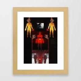 Sheth ///  Framed Art Print