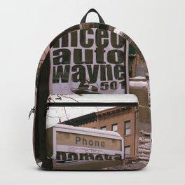 Beige City Backpack