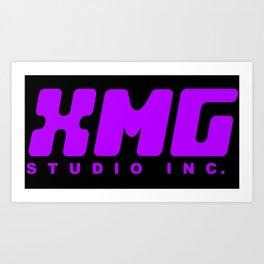 XMG Studio, Purple Art Print