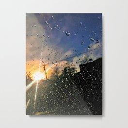 Sunshine after the Rain in Portland, Maine Metal Print