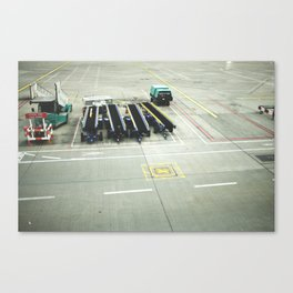 pre flight Canvas Print