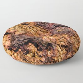 Rust Floor Pillow