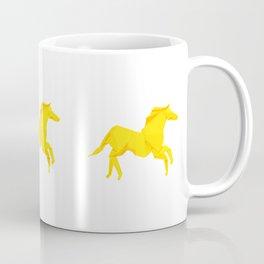 Origami Stallion Coffee Mug