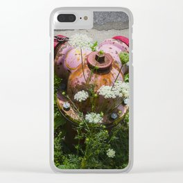 Summer in the City Clear iPhone Case