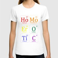erotic T-shirts featuring HOMO EROTIC  by SLANTEDmind.com