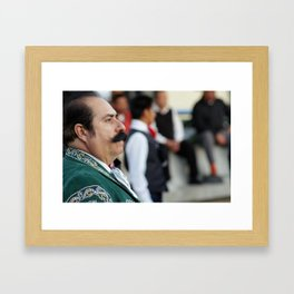Mustacho Framed Art Print