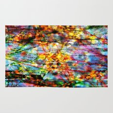 Colorful Symphony of Spring  Rug