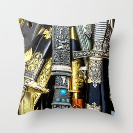 Cutting Weapon Throw Pillow