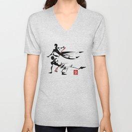 Capoeira 463 Unisex V-Neck