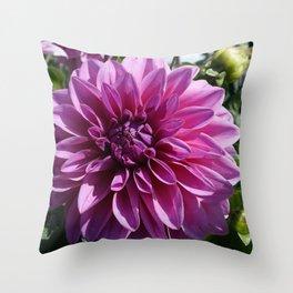 Dahlia Throw Pillow