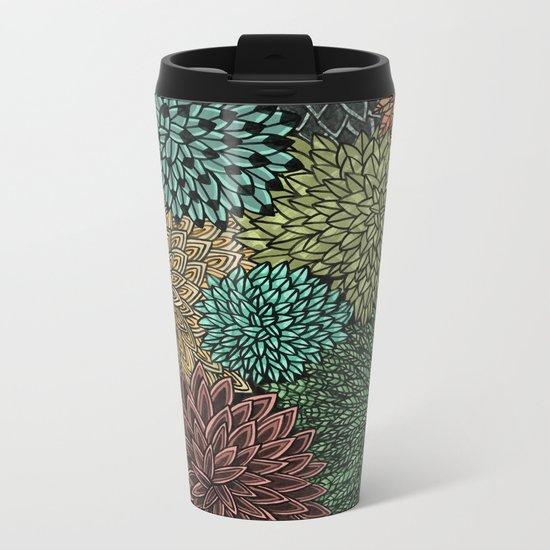 Ink  Pattern No.4 Metal Travel Mug