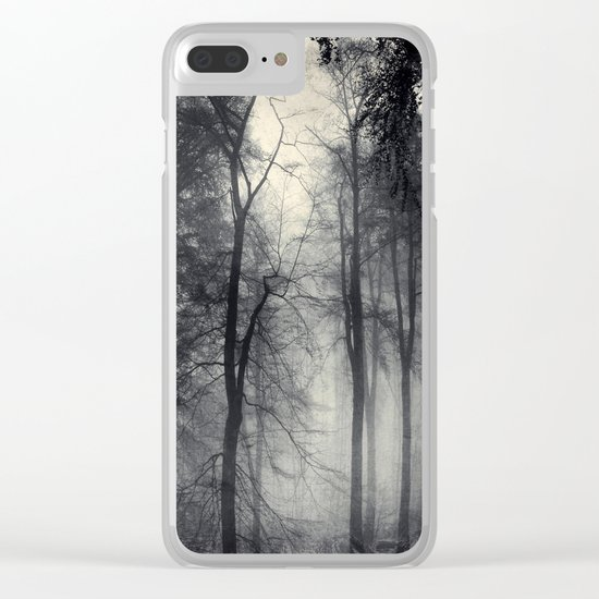 realm of shades - misty forest Clear iPhone Case