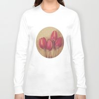 antique Long Sleeve T-shirts featuring Antique Tulips by Jessica Torres Photography