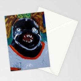 Berta.. u look like a leech Stationery Cards