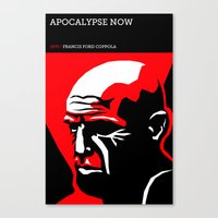 apocalypse now Canvas Prints featuring Apocalypse Now by David Edward Johnson