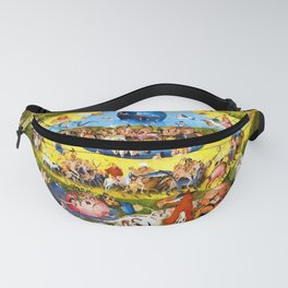 Hieronymus Bosch Garden of Earthly Delights Fanny Pack