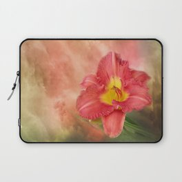 Beautiful day lily Laptop Sleeve