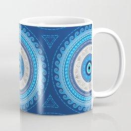 Greek Mati Mataki - Matiasma Evil Eye ornament Coffee Mug