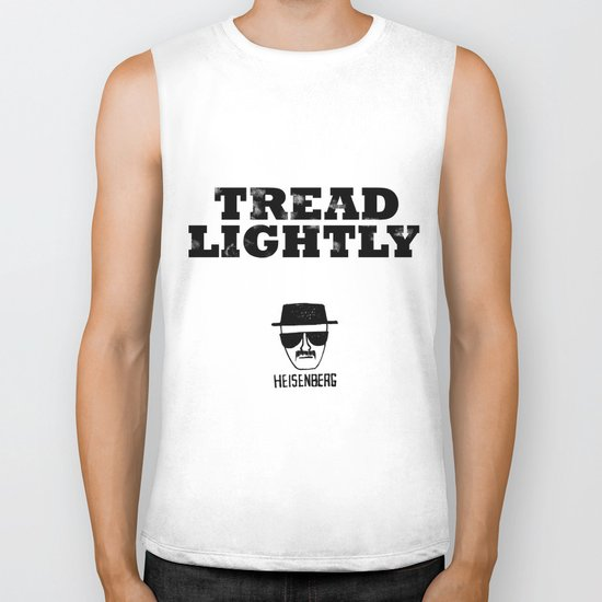 Breaking Bad - Tread Lightly - Heisenberg Biker Tank
