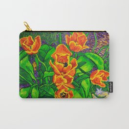 View of Tulips Carry-All Pouch