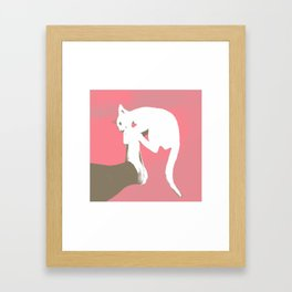 Cattack Framed Art Print