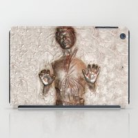 han solo iPad Cases featuring Han Solo In Carbonite by Graphic Craft