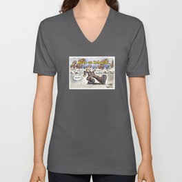 Keep on Relaxing John Key Unisex V-Neck