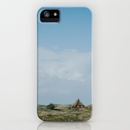 Red Beach House iPhone Case