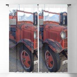 Antique fire truck Blackout Curtain