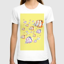 Tropical fish Yellow edition T-shirt