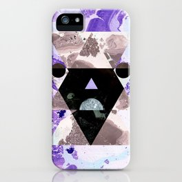 Faces of the universe iPhone Case