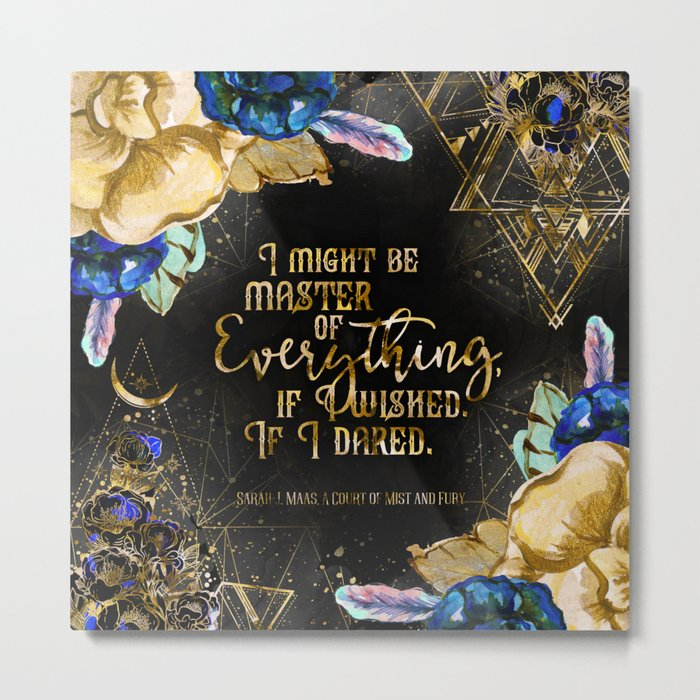 Master of Everything (ACOMAF) Metal Print